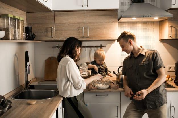 שמים את חווית המשתמש במרכז, מטבח עם תכנון מוקפד ומחושב