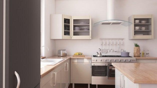 4 מאפיינים בולטים של מטבחים מודרניים קטנים